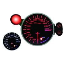 DEPO óra, műszer 115mm Sebességmérő